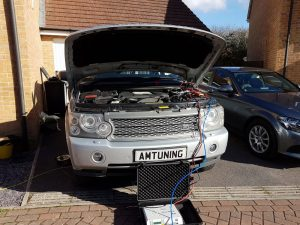 Range Rover TDV8 Remap and Hydo Clean Havant