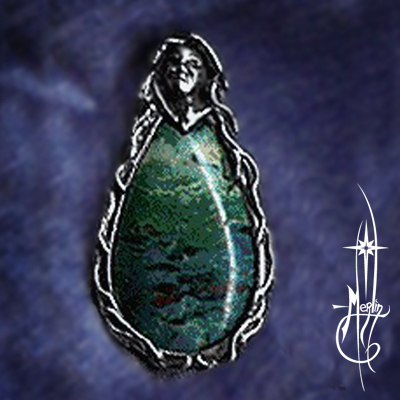 Lady of Oceans Amulet