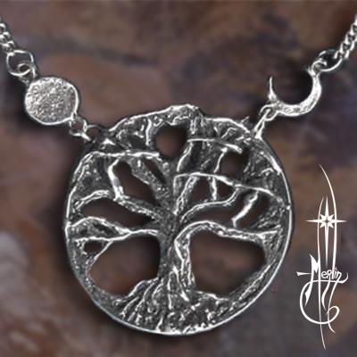 Living circle Tree amulet