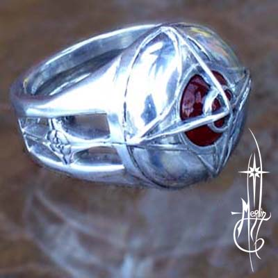 The Spark ring - front