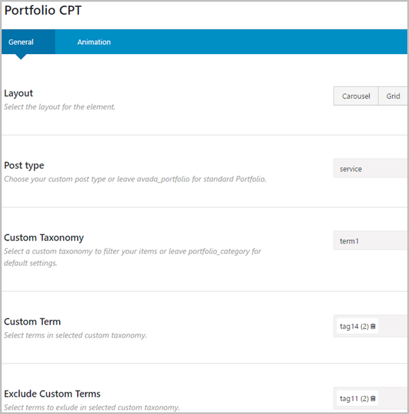 Custom Post Types and Taxonomies for Fusion Builder - 5