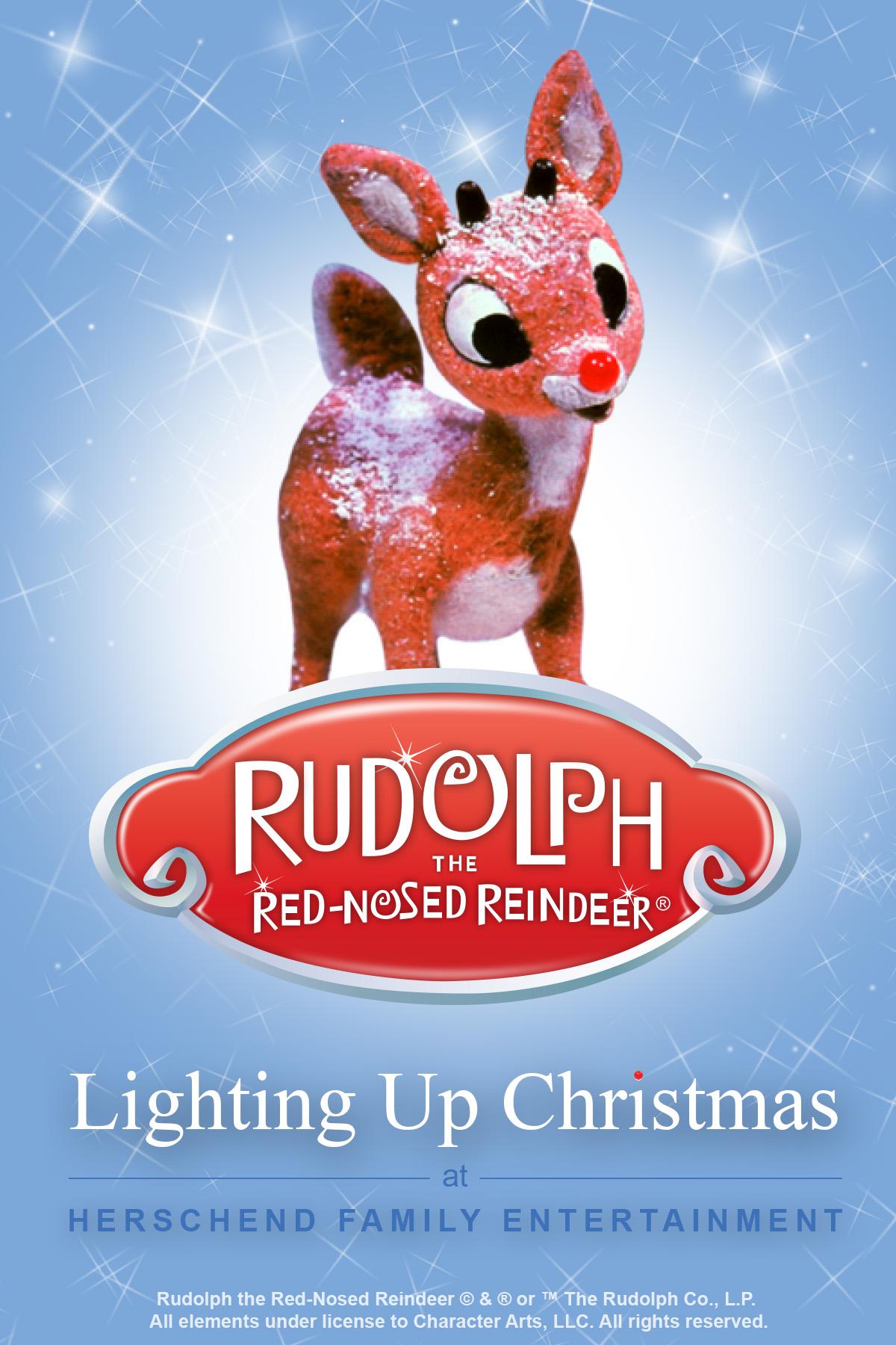 herschend parks to feature rudolph the rednosed reindeer