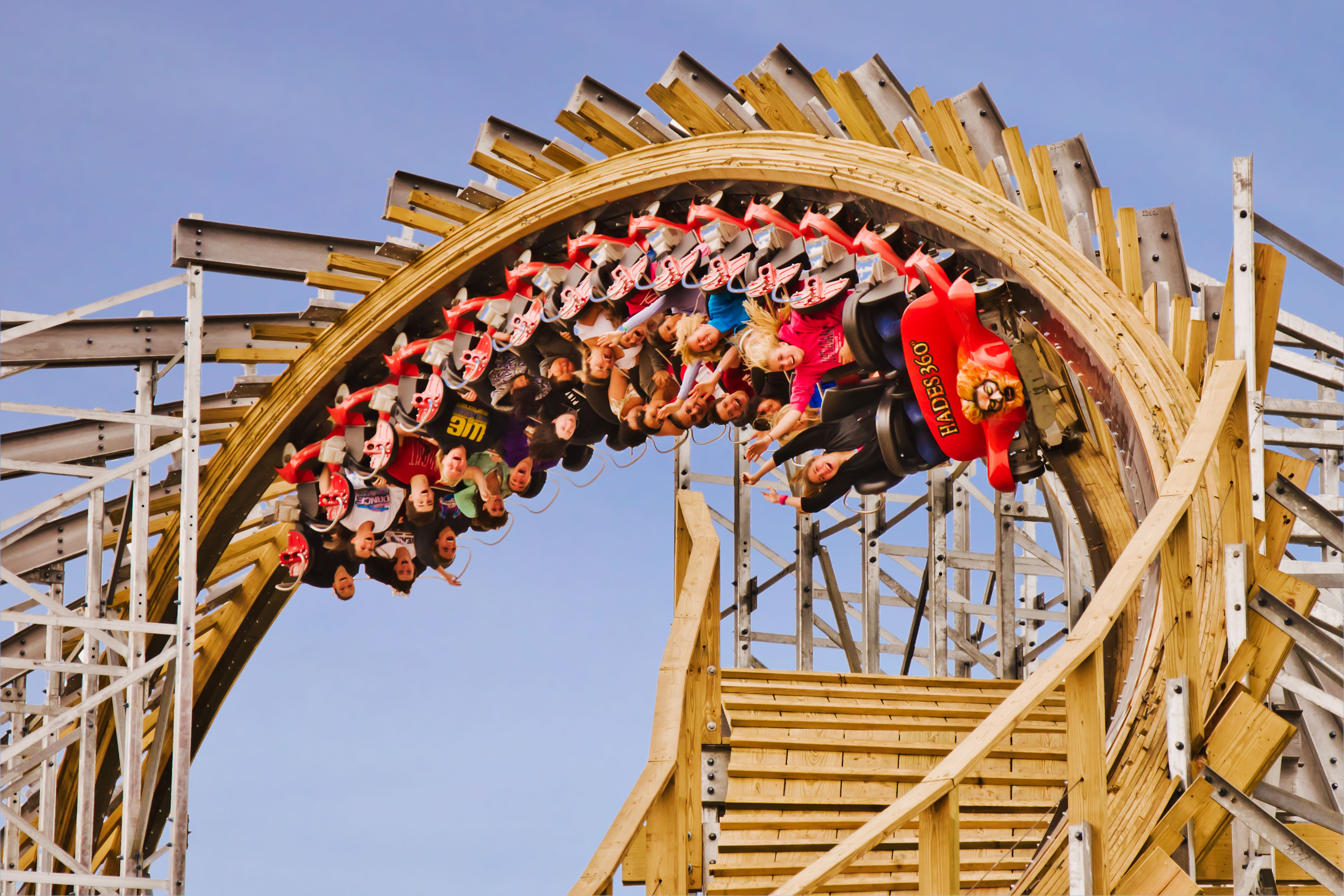 Gravity Group Sends Wooden Roller Coaster Upside Down Amusement Today