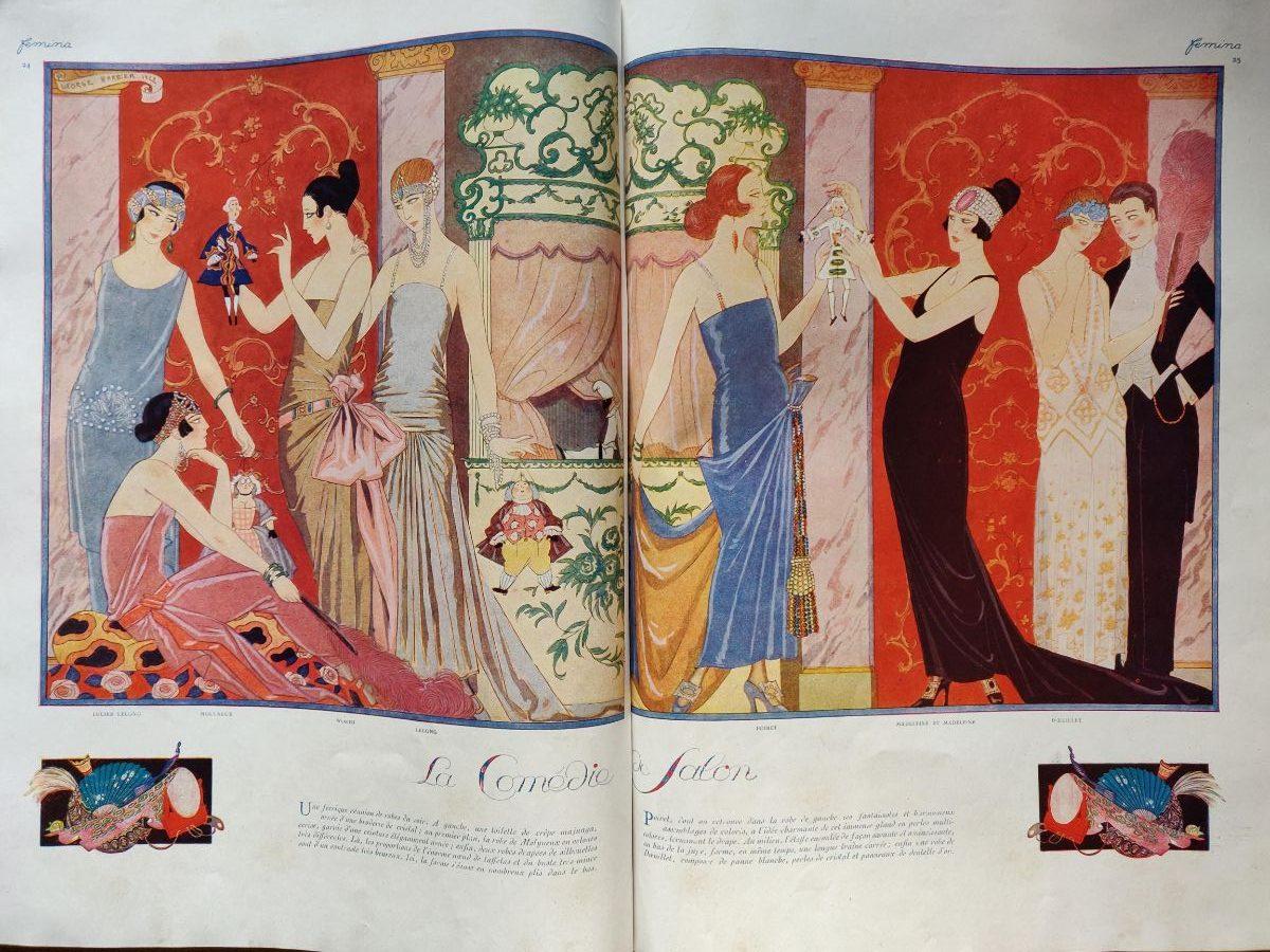 Ma revue Femina Art Déco de 1922