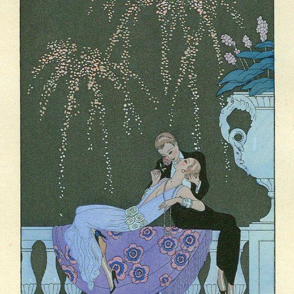 Les illustrations Art Déco de George Barbier