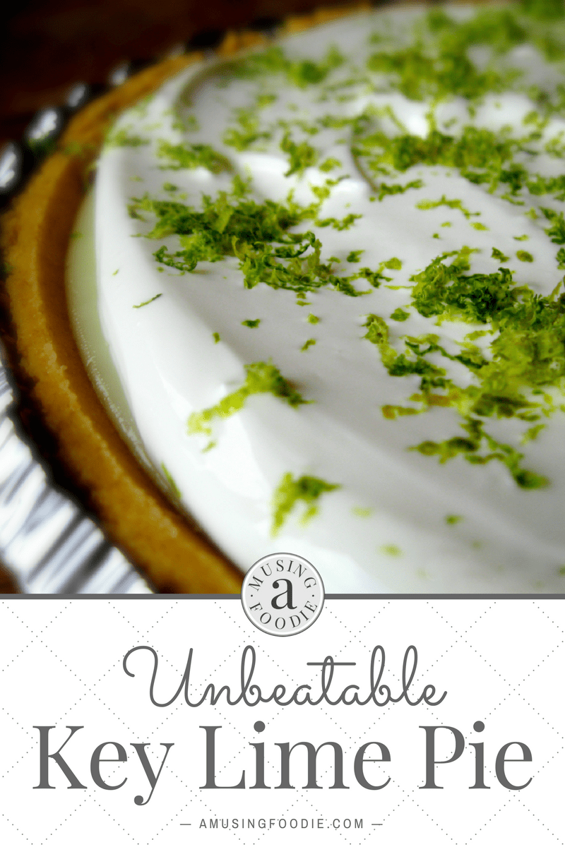 Emeril's delicious and unbeatable Key Lime Pie recipe, with a few tweaks—it might even be better frozen!