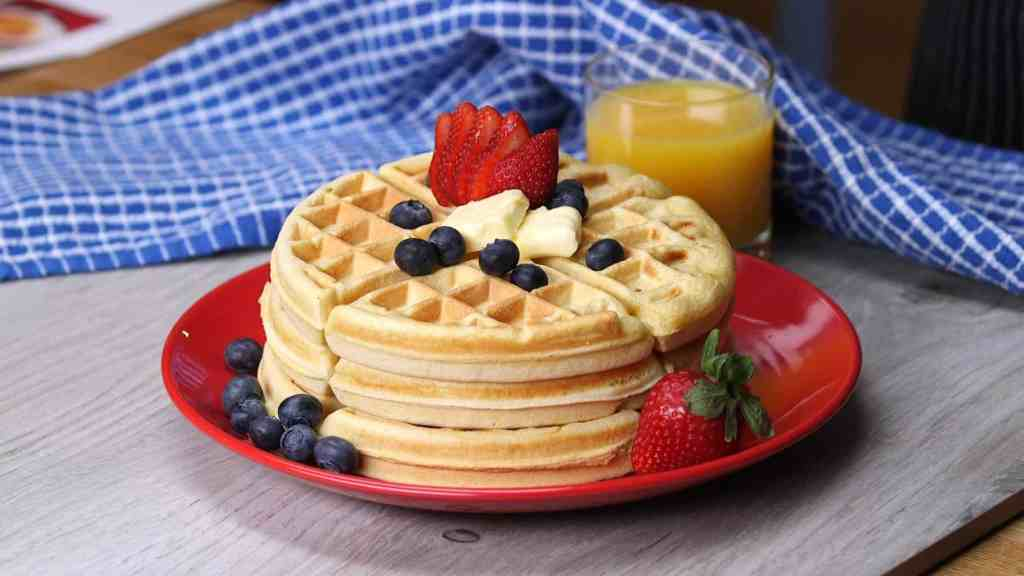 Who doesn't want a recipe for quick waffles on the weekend? These are perfect every time!