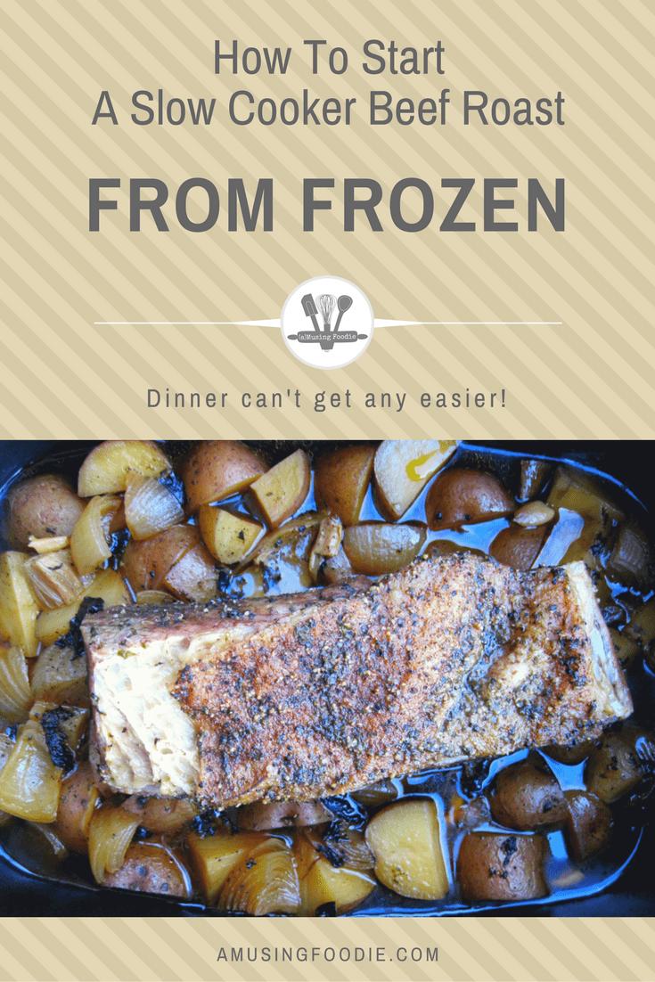 how to cook frozen steak in slow cooker