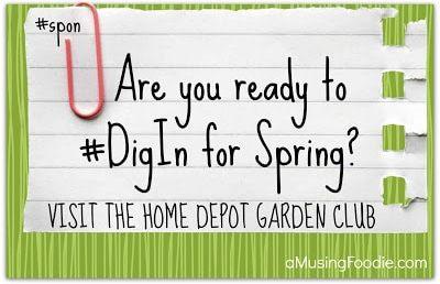 #DigIn, The Home Depot, gardening, herbs, spring