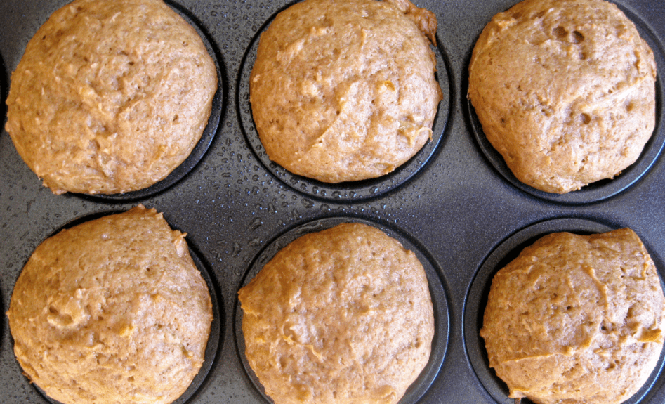 Egg-Free Zucchini Bread Mini Muffins