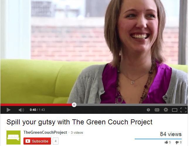 Liza - The Green Couch Project