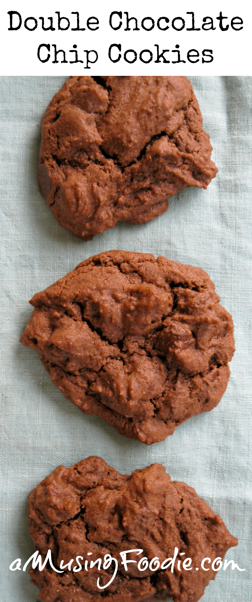 how to make subway double chocolate chip cookies