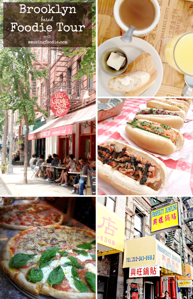 There are many reasons to visit Brooklyn. My favorite is the food options within reach!