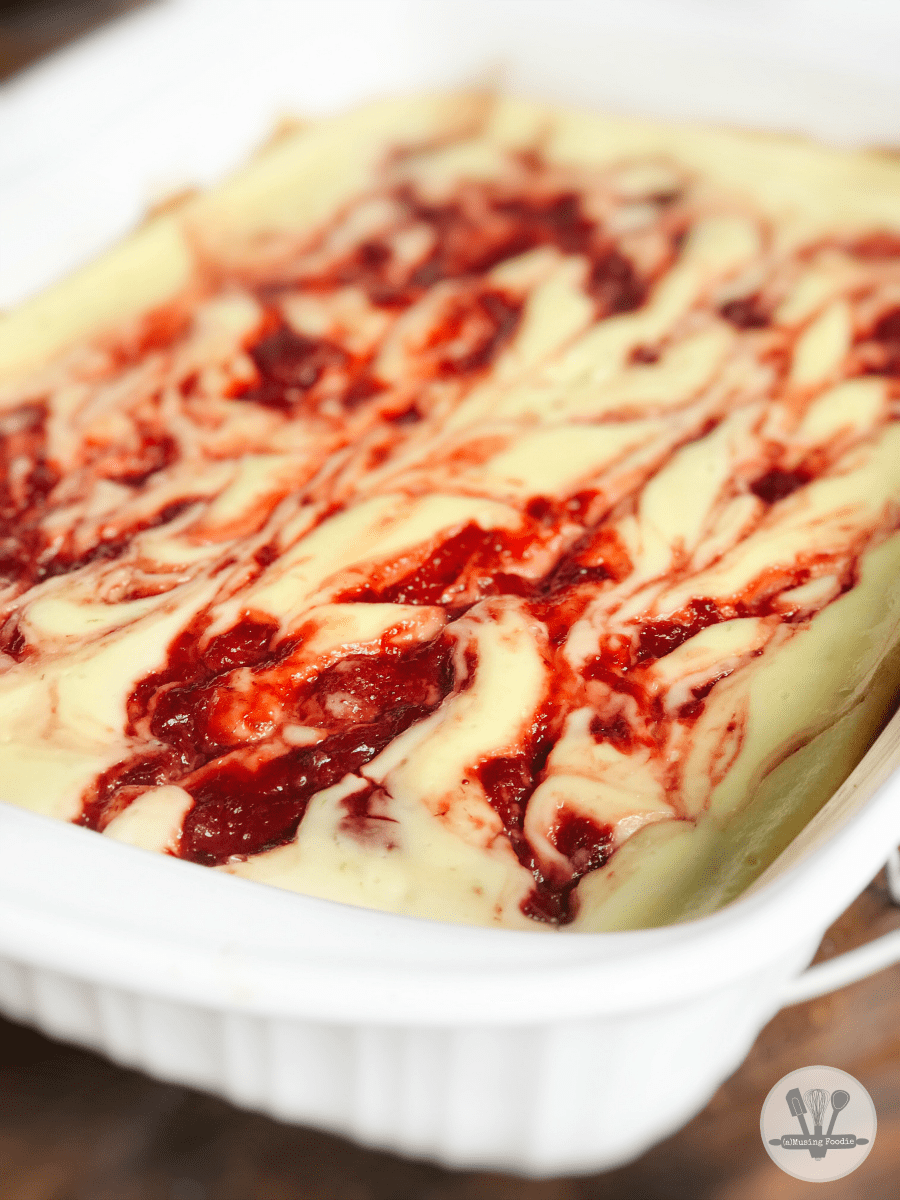 These strawberry lime cheesecake bars are bright with flavor and so easy to make!