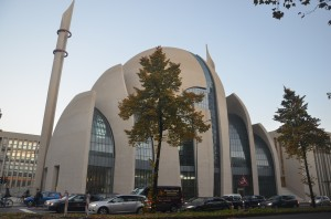 The muslim society in Cologne would congregate and perform tarawih for the first time here in Ramadan 2014 / 1435 - Grand Mosque, Cologne, Germany  Part One: What Ramadan Means DSC 3385