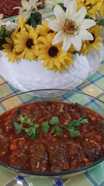 20140619_101205  Kufta Basya with Tomatoes Gravy 20140619 101205