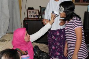 'Smell and guess' game  Ramadan Activities and Fun Game Ideas for Children indonesia trip 150