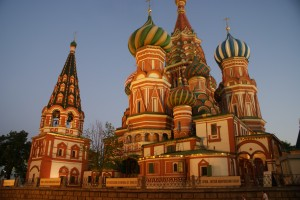 St Basil Cathedral at Red Square  Russia - Moscow, Swan Lake and Tchaikovsky (Part 1) DSC02975