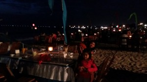 Seafood Restaurant at Jimbaran  How To Manage Your 3 Day Holiday In Bali 20140807 174913