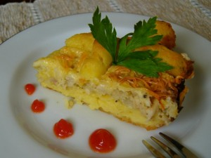 Chicken & Cheese Curry Puffs  Chicken & Cheese Curry Puff Recipe 64883178