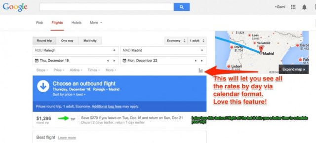 Google Flight Snapshot  Planning Your Halal Trip? Where To Find Deals! Flights to Madrid   Google Search