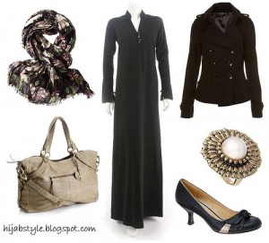 abaya3  The Art of Wearing Hijab Part 2: Abaya Style abaya3