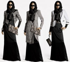 abaya4  The Art of Wearing Hijab Part 2: Abaya Style abaya4