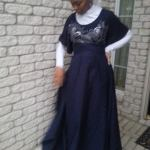 Navy skirt  Interview With Muslimah Entrepreneur Of Hip Hijab navy skirt
