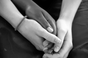 Google image  A Sincere Bond or An Obsession? Part 1 BW Friendship Hands 3