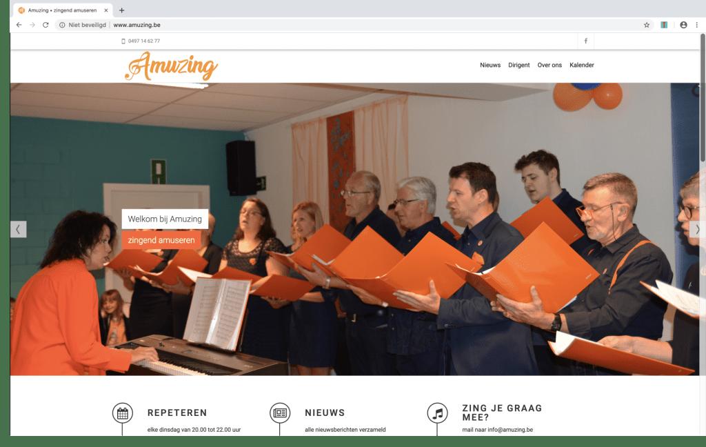 Amuzing lanceert nieuwe website