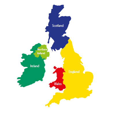 Image result for uk map