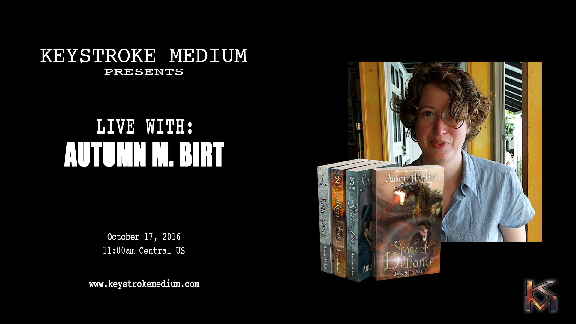 Live! with Autumn Birt and Keystroke Medium