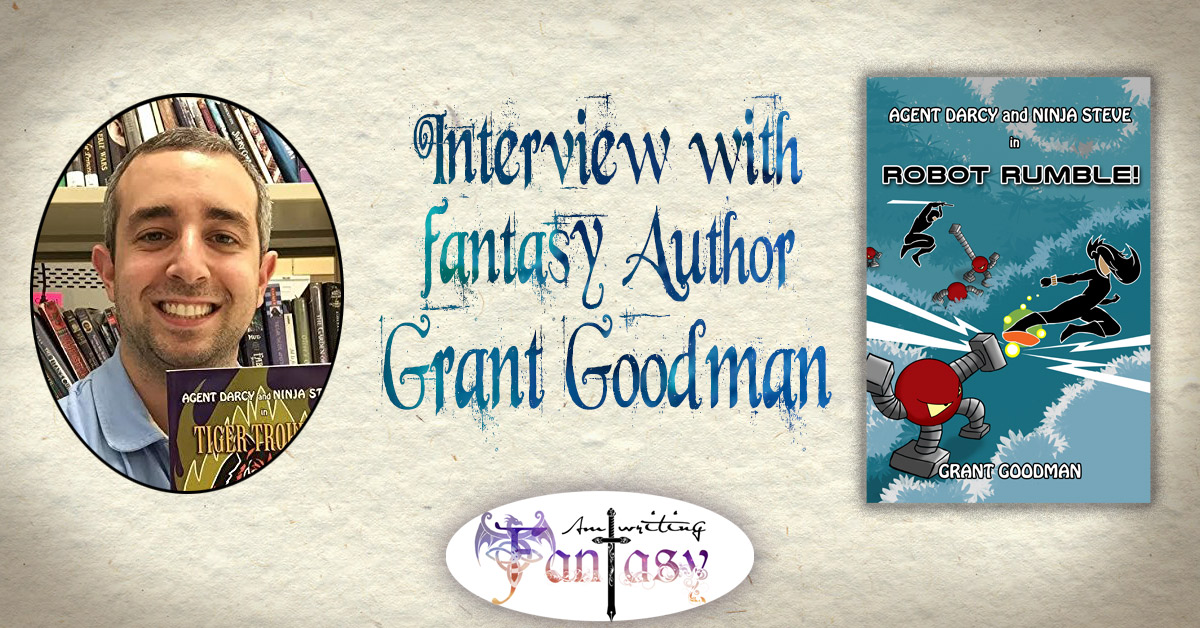 Interview with Fantasy Author Grant Goodman