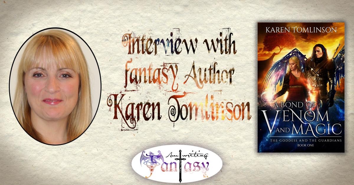 Interview with Fantasy Author Karen Tomlinson
