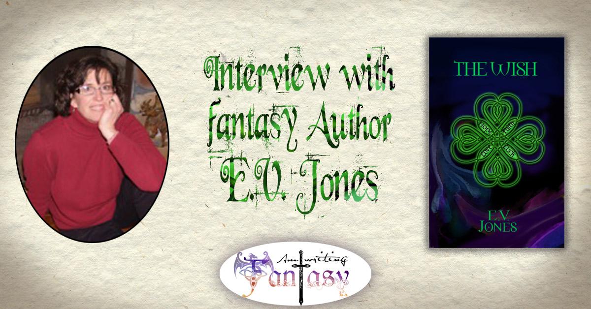 Interview with Fantasy Author E.V. Jones