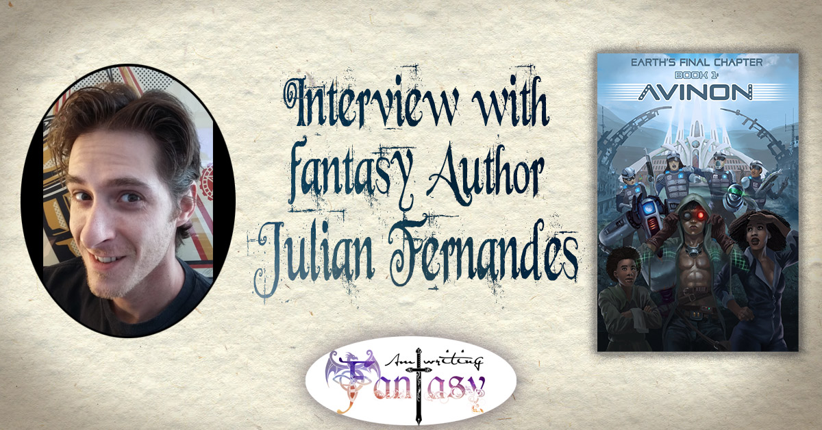 Interview with Scifi Author Julian Fernandes
