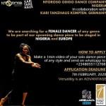 Ntoroso Odido dance company Nigeria.