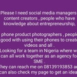 A company in Nigeria