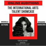 International arts talent showcase