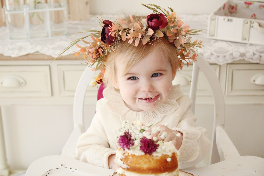 A Rustic Floral Themed 1st Birthday