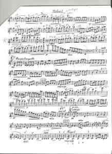Gaelic Symphony Original Part - Vln. I, p. 2