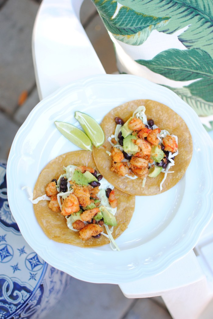 Coconut, Chili & Lime Shrimp Tacos - amybethcampbell.com