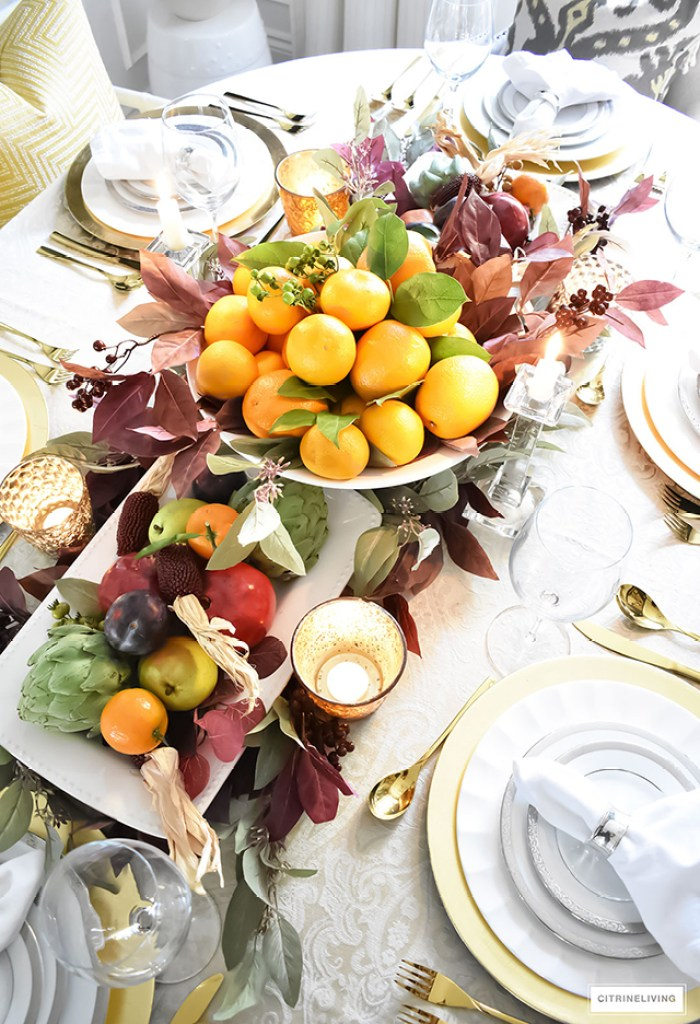 Thanksgiving Tablescape Inspo Amy Beth Campbell