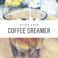 Dairy Free Coffee Creamer (that doesn't suck)