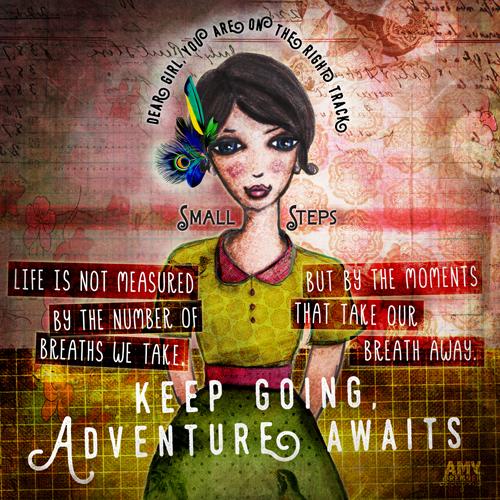 KEEP GOING, ADVENTURE AWAITS