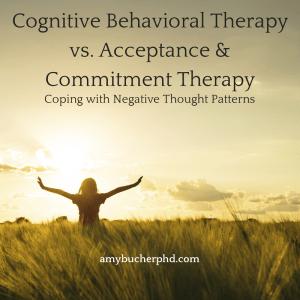 Cognitive Behavioral Therapy vs.