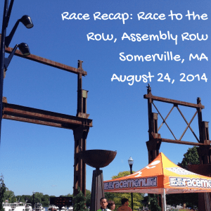 Race Recap- Race to the Row, Assembly