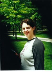 This is me when I was first moving to Michigan, before ever stepping foot in a classroom as a teacher. I look like I'm about 15.
