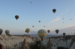 View from the hot air balloon!