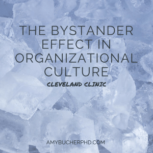 The Bystander Effect in Organizational